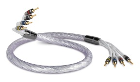 QED Genesis Silver Spiral Bi Wire